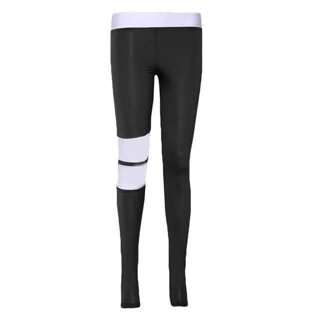 Sexy Women Leggings Gothic Stripe