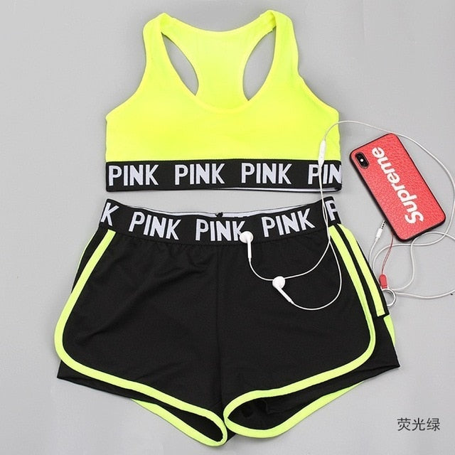 2 Piece Gym Set Women Yoga Set