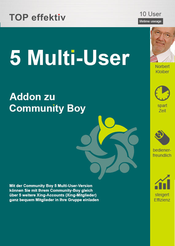 5 Multi-User-Paket für den Community Boy