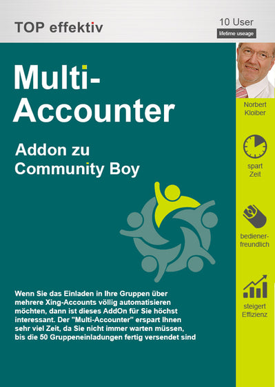 Multi-Accounter für den Community Boy
