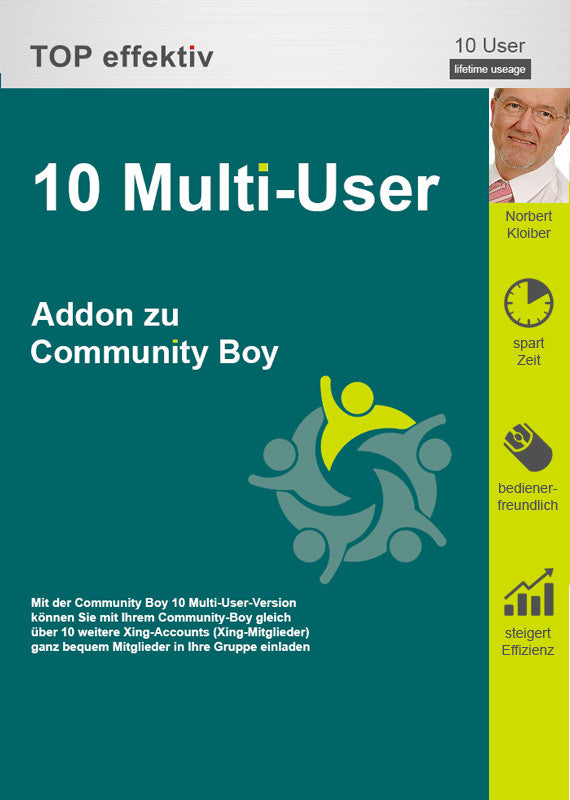 10 Multi-User-Paket für den Community Boy