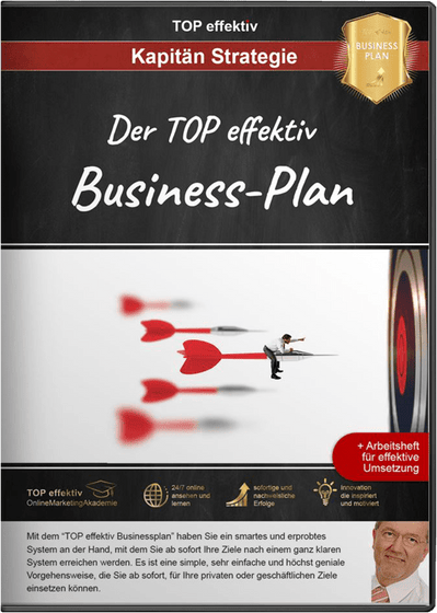 TOP effektiv Businessplan