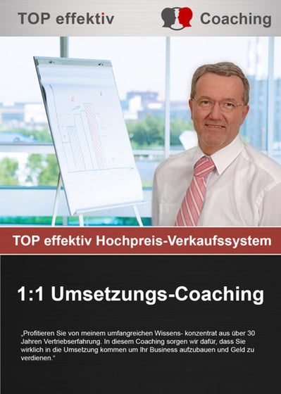 TOP effektiv 1:1 Umsetzungs-Coaching