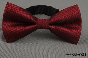 Men's Bow Tie Paisley Bowtie Business Wedding