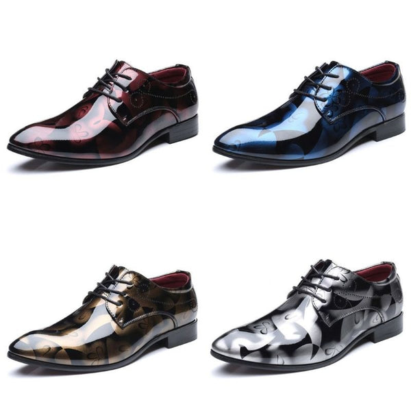Men Formal Shoes Pointed Toe Business Wedding