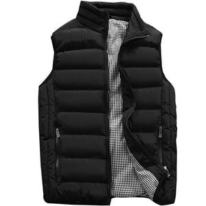 Vest Men New Stylish 2019 Spring Autumn Warm Sleeveless Jacket