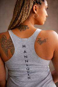 "BLACK MANNE""QUEEN"" - Loose Tank"