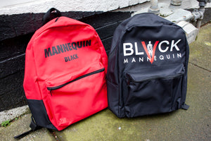 BLACK MANNEQUIN - Mannequin Black Backpack