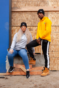 BLACK MANNEQUIN - Honey and Sky Grey Hoodies