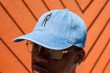 "Load image into Gallery viewer, BLACK MANNEQUIN - Denim ""LOGO"" Hat"