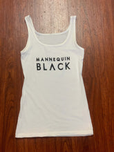 "Load image into Gallery viewer, BLACK MANNE""QUEEN"" - Sweet ""MANNEQUIN BLACK"" Logo Tank"