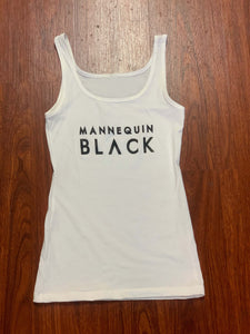 "BLACK MANNE""QUEEN"" - Sweet ""MANNEQUIN BLACK"" Logo Tank"