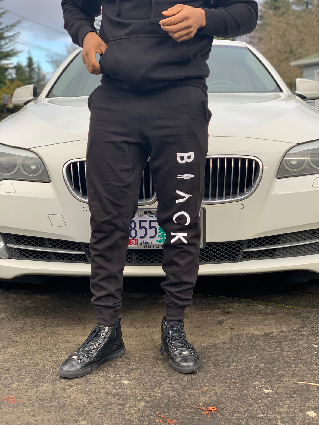 BLACK MANNEQUIN  - Black Passion Joggers