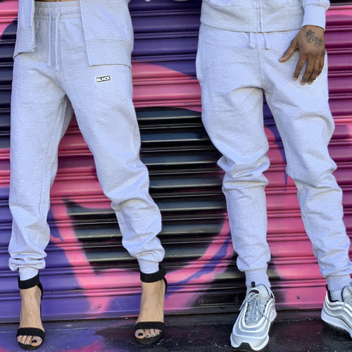 BLACK MANNEQUIN  - Grey Drip Joggers