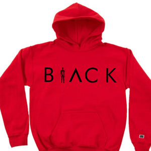 BLACK MANNEQUIN - Red Passion Hoodie