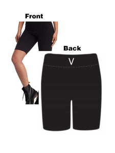 BLACK MANNEQUIN  -  V Super Soft Biker Shorts