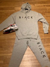 Load image into Gallery viewer, BLACK MANNEQUIN - Grey Passion Hoodie