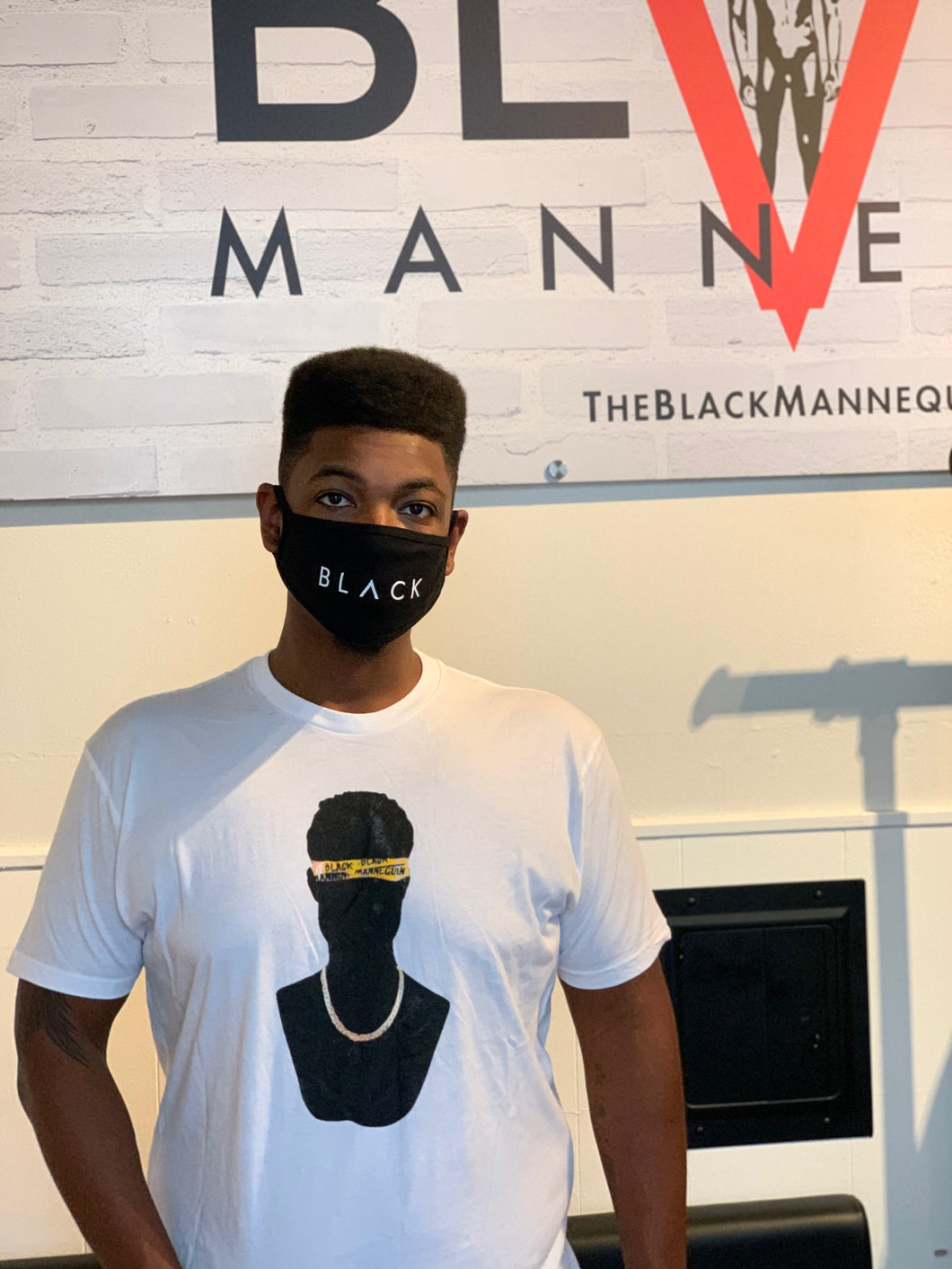BLACK MANNEQUIN - Black Manne-Mask