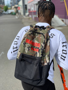 BLACK MANNEQUIN - The Camo Backpack