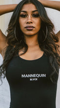 "Load image into Gallery viewer, BLACK MANNE""QUEEN"" -  New Mannequin Black Bodysuit"