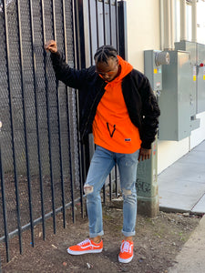 BLACK MANNEQUIN - Orange Crush Hoodie