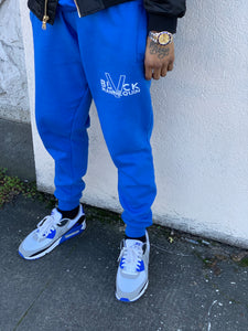 "BLACK MANNEQUIN - ""Royal""ty Blue Joggers"