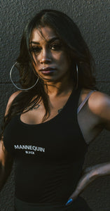 "BLACK MANNE""QUEEN"" -  New Mannequin Black Bodysuit"