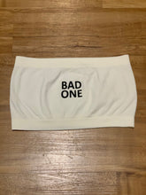 "Load image into Gallery viewer, BLACK MANNE""QUEEN"" -  Bad One Bandeau - Cream"