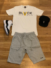 "Load image into Gallery viewer, BLACK MANNEQUIN  - ""Mannequin Black"" Label Shorts"