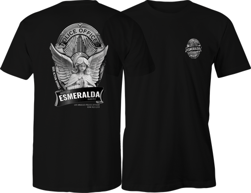 LAPD Officer Esmeralda Tribute T-Shirt