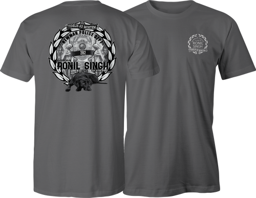 Newman Police Dept Corporal Singh Tribute T-Shirt