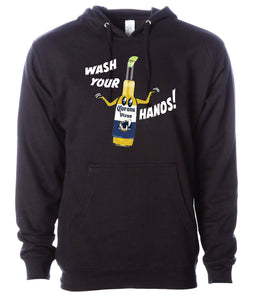 Works Wear - WASH YOUR HANDS! Hoodie
