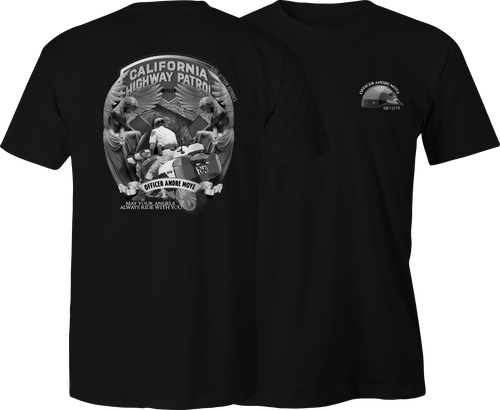 CHP Officer Moye Tribute T-Shirt