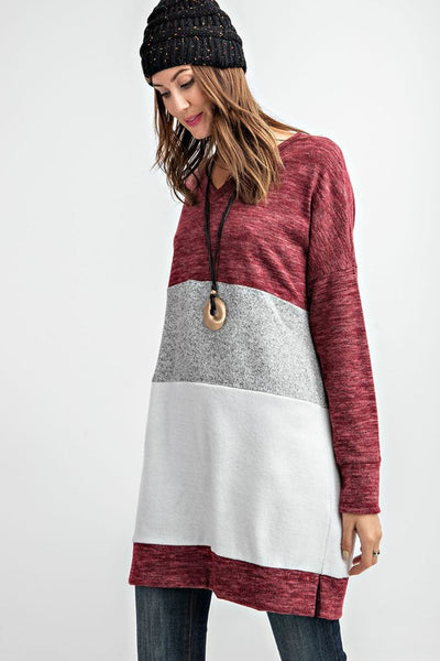 Colorblock Cozy Tunic