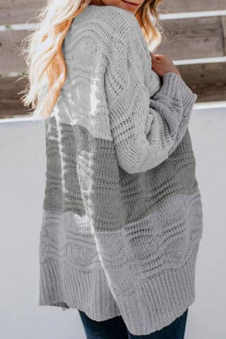 Wave Sweater Cardi