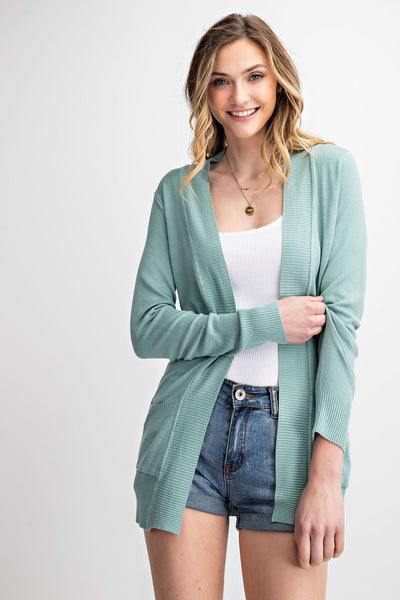 The Perfect Open Cardigan