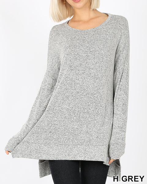 Crew Neck Cozy Tunic