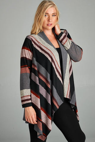 Stripes All Day Cardi