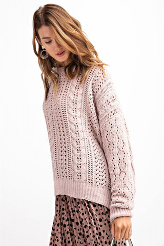 Veola Thread Knit Sweater