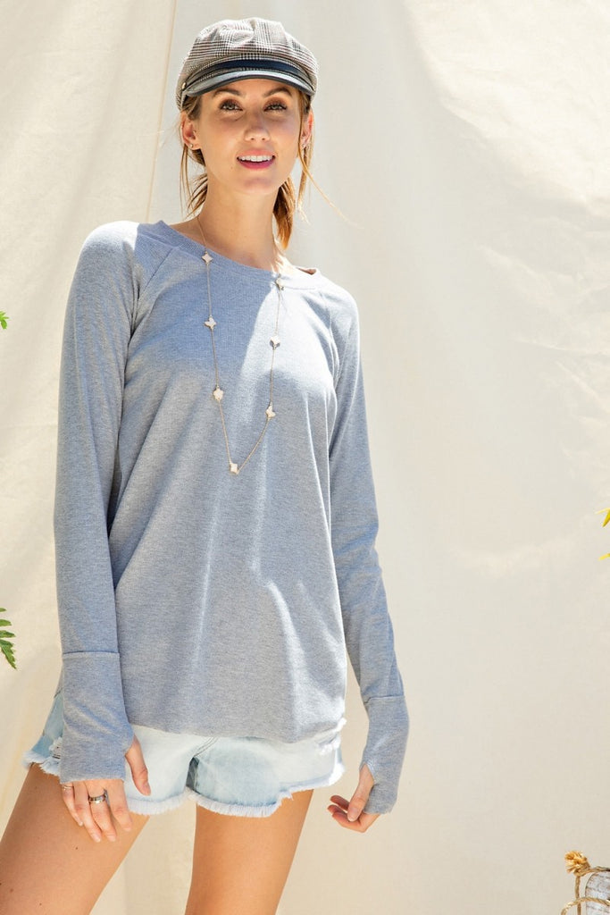 Long Sleeve Thumb Hole T