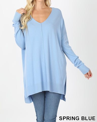 Center Seam Sweater