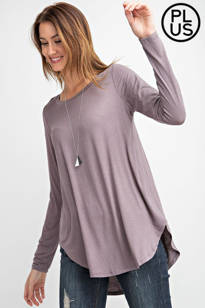 Round Neck Easy Top
