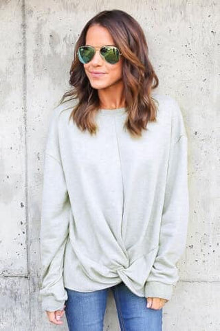 Criss Cross Sweatshirt