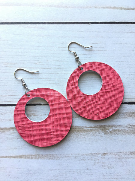 Perfectly Pink Luna Earrings