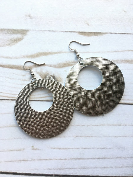 Gunmetal Luna Earrings