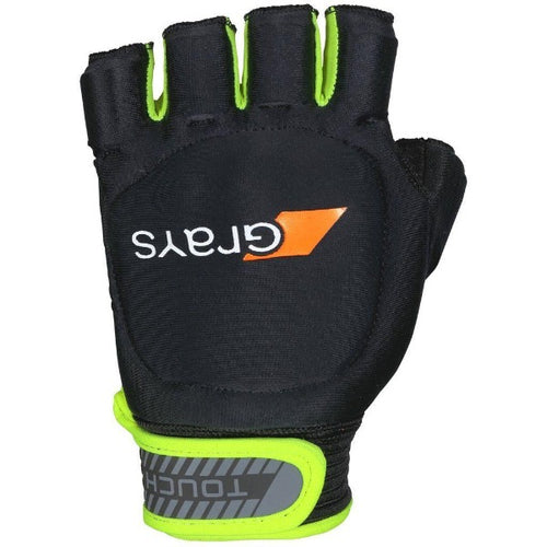 Grays Touch Glove Left Black/Fluo Yellow - One Sports Warehouse