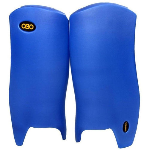 OBO Robo Hi Control Leg Guards Blue - One Sports Warehouse