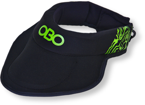 OBO Robo Throat Guard With Bib (one size) - One Sports Warehouse