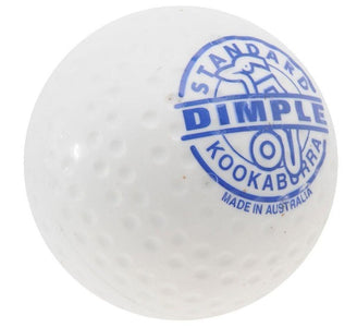 Kookaburra Dimple Standard Hockey Ball White - One Sports Warehouse
