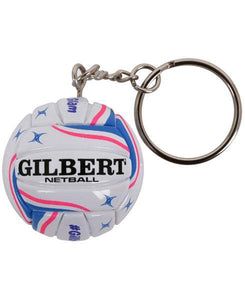 Gilbert Netball Keyring - One Sports Warehouse